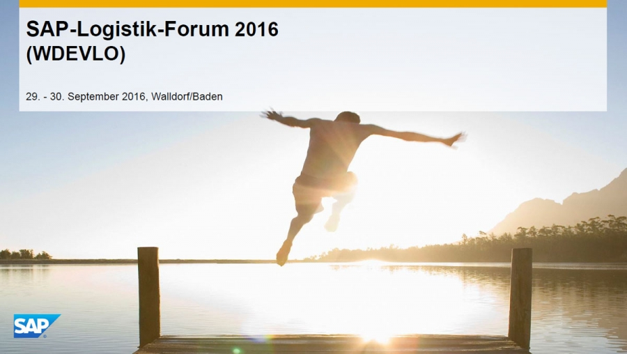 Inside SAP » Logistik-Forum 2016 in Walldorf