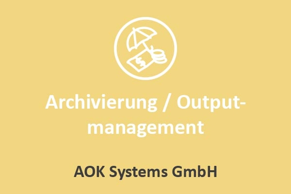 AOK Systems - Archivierung / Outputmanagement