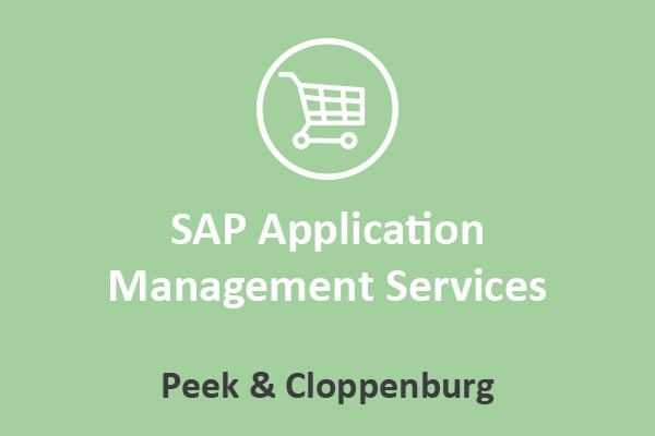 Peek & Cloppenburg - SAP Application Management Services