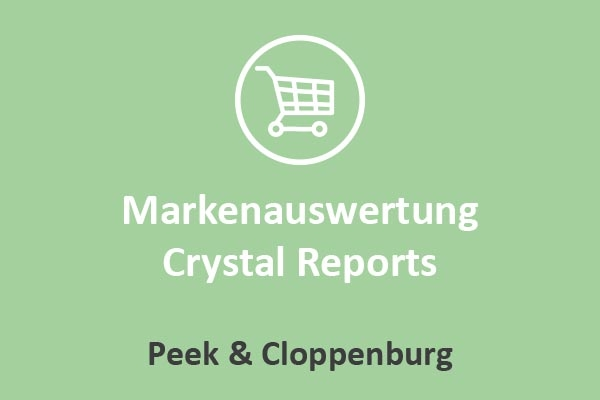 Peek & Cloppenburg - Markenauswertung Crystal Reports